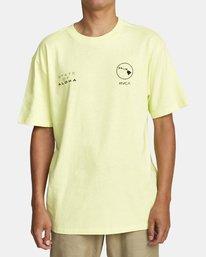 0 HOKULE'A SHORT SLEEVE T-SHIRT Yellow M4102RHO RVCA