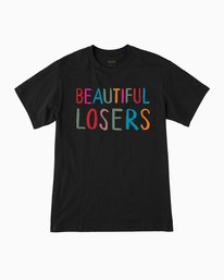 0 Beautiful Losers T-Shirt Black M410QRFO RVCA