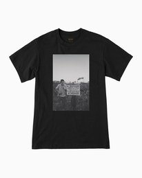 0 Beautiful Losers Yelland T-Shirt Black M410QRYE RVCA