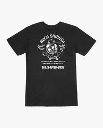 0 RVCA Shibuya T-Shirt Black M410VRRS RVCA