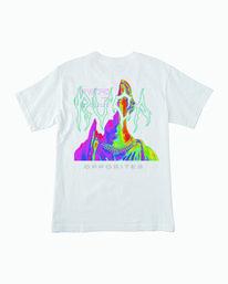 0 Infrared T-Shirt White M410WRIN RVCA