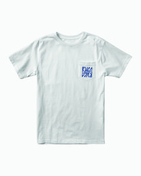 0 SEQUEL SHORT SLEEVE TEE White M4122RSE RVCA