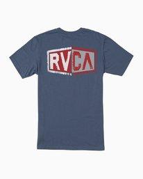 0 Carborator T-Shirt Blue M412TRCA RVCA
