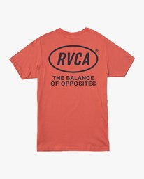 0 Labour T-Shirt Grey M412VRLA RVCA