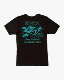0 Pest Control Pocket T-Shirt Black M412VRPC RVCA