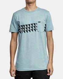 0 Cross Fade T-Shirt Multicolor M412WRCF RVCA