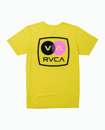 0 TV Corpo TEE Yellow M412WRTV RVCA