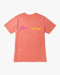 0 Campbell Bros T-Shirt Pink M413QRCA RVCA