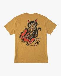 0 Bert Krak Tat Cat T-Shirt  M414QRTA RVCA