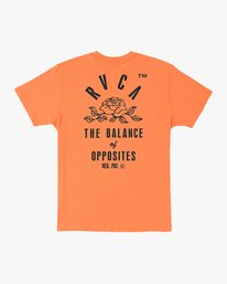 0 Rose State Pocket T-Shirt Orange M414URRO RVCA