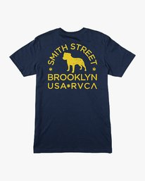 0 Smith Street Wicks Pocket T-Shirt Blue M414VRWI RVCA