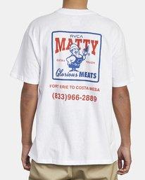 2 MATTY'S POCKET TEE White M414WRGM RVCA