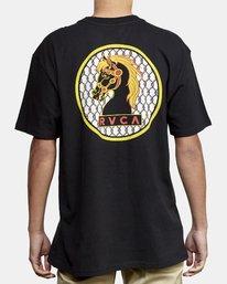 2 Ben Venom Knight Me TEE Black M414WRKM RVCA
