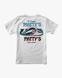 0 Matty's Patty's Pocket T-Shirt White M419URMP RVCA