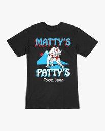 0 Matty's Patty's Tokyo T-Shirt Black M419VRMP RVCA