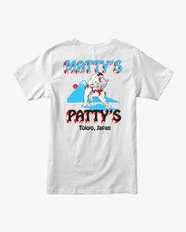 0 Matty's Patty's Tokyo T-Shirt White M419VRMP RVCA