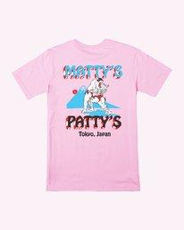0 Matty's Patty's Tokyo T-Shirt Pink M419VRMT RVCA
