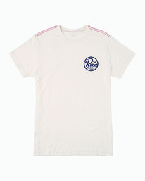 0 PATCH SEAL T-SHIRT White M4201RPS RVCA