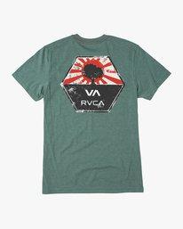 0 Bruce Irons T-Shirt Green M420QRBR RVCA