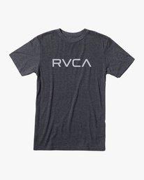0 Big RVCA T-Shirt Black M420SRBI RVCA