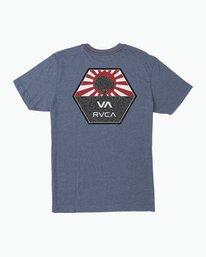 0 Bruce Irons T-Shirt Blue M420SRBR RVCA
