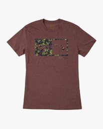 0 Squawker Islands Balance Box T-Shirt  M420SRSS RVCA