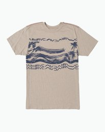 0 Warped Palm T-Shirt Multicolor M420SRWA RVCA