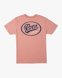 0 One Shott T-Shirt Brown M420TRON RVCA
