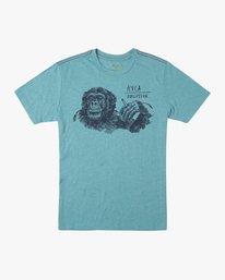 0 Ben Horton Smoker T-Shirt Blue M420TRSM RVCA