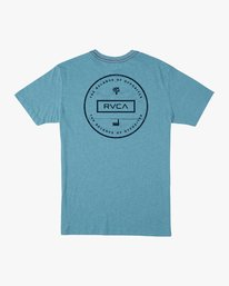 0 Induseal T-Shirt Blue M420URIN RVCA