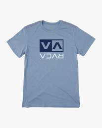 0 Flipped Box T-Shirt  M420URPB RVCA