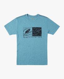 0 Ben Horton Tweet T-Shirt Blue M420URTW RVCA