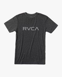 0 BIG RVCA SHORT SLEEVE TEE Black M420VRBI RVCA
