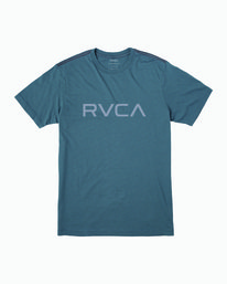 0 Big RVCA T-Shirt Red M420VRBI RVCA
