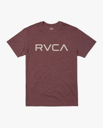 0 BIG RVCA TEE Red M420VRBI RVCA