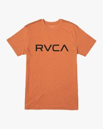 0 Big RVCA T-Shirt Orange M420VRBI RVCA