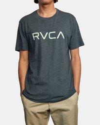 1 BIG RVCA SHORT SLEEVE TEE Black M420VRBI RVCA