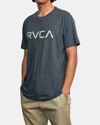 4 BIG RVCA SHORT SLEEVE TEE Black M420VRBI RVCA