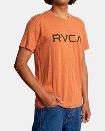 6 BIG RVCA SHORT SLEEVE TEE Multicolor M420VRBI RVCA