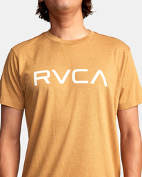 4 BIG RVCA SHORT SLEEVE TEE Blue M420VRBI RVCA