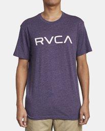 1 BIG RVCA SHORT SLEEVE TEE  M420VRBI RVCA