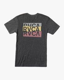 0 Overlap T-Shirt Black M420VROV RVCA