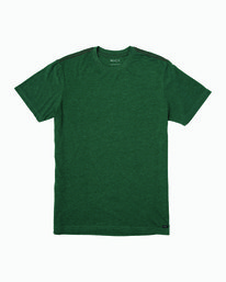 0 Solo Label T-Shirt Green M420VRSO RVCA