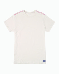 0 Solo Label T-Shirt White M420VRSO RVCA