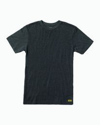 0 Solo Label T-Shirt Black M420VRSO RVCA
