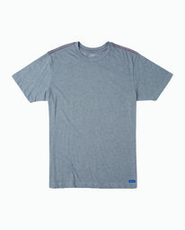 0 Solo Label T-Shirt Grey M420VRSO RVCA