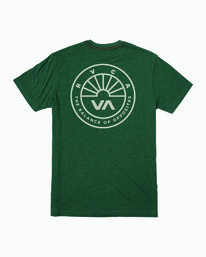 0 Progress T-Shirt Grey M420WRPR RVCA