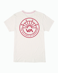 0 Progress T-Shirt White M420WRPR RVCA