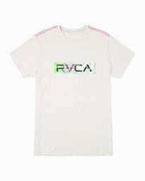 0 Serigraph T-Shirt White M420WRSE RVCA