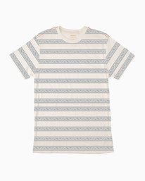 0 VA Repeater Striped T-Shirt  M422QRVA RVCA